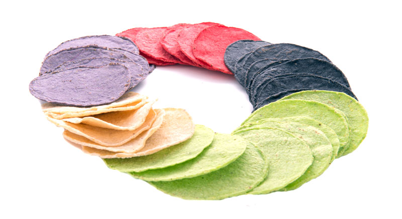 Colored Corn Tortilla Products Pomo Food Industries S A R L